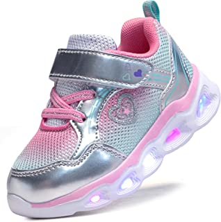 Girls Led Shoes Flashing Light Up Sneakers