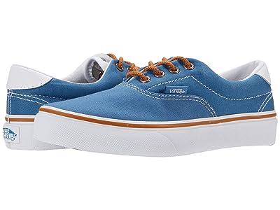 Vans Kids Era 59 (Little Kid) ((C&L) Blue/Floral) Boy