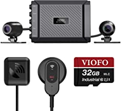VIOFO MT1 Motorcycle Dash Cam Front and Rear 1080P Dual Channel Waterproof Motorbike..