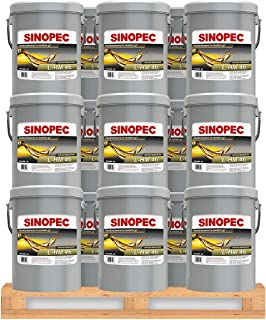 Sinopec AW 46 Hydraulic Oil Fluid (ISO VG 46, SAE 15) - 5 Gallon Pails (36)