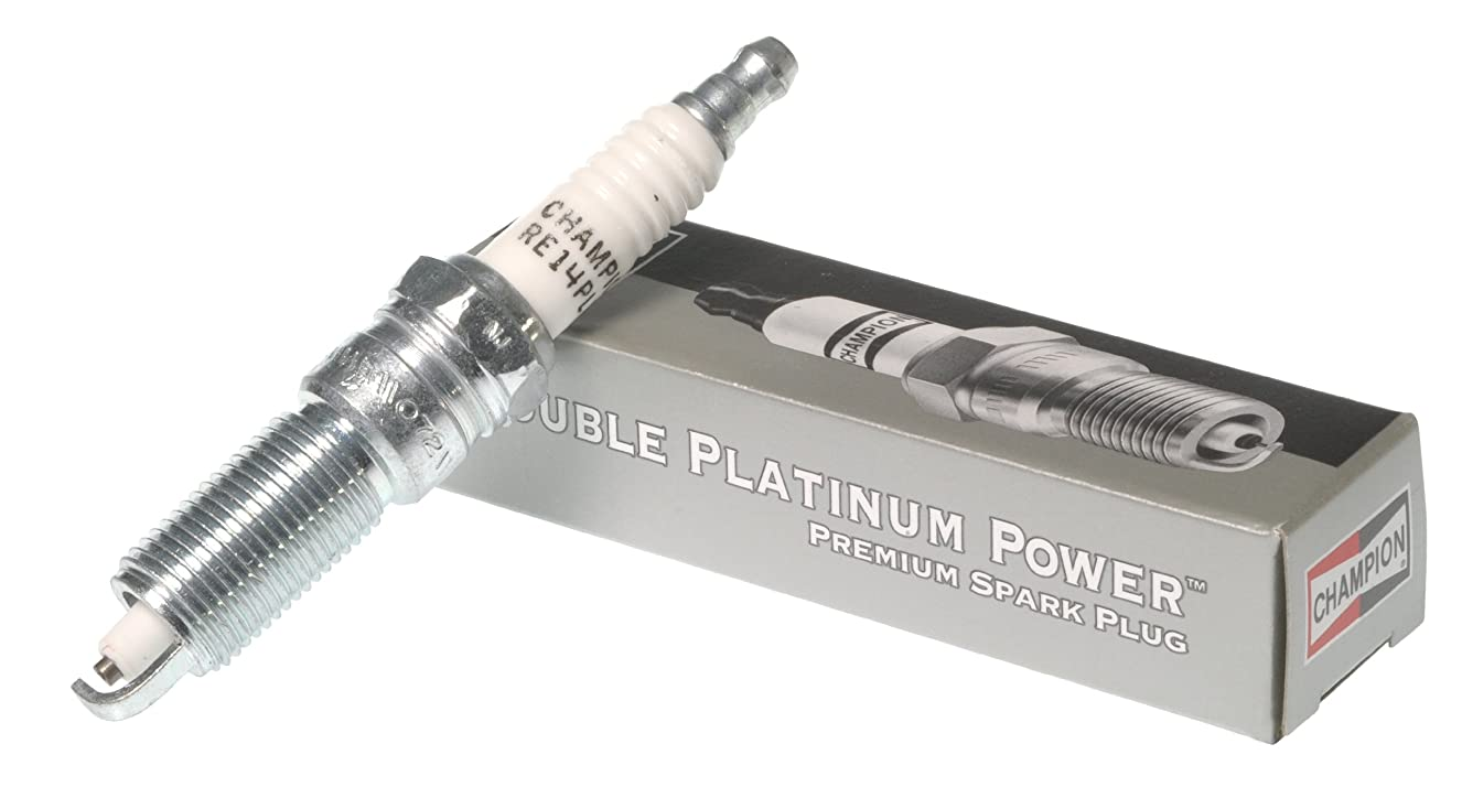 Champion 7437 Double Platinum Power Replacement Spark Plug, (Pack of 1) rispccmgjj2150