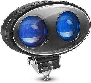 LY8 LED Forklift Safety Light Blue Zone Light Warehouse Pedestrian Warning Spot Light 8W 5.5inch 10V-80V