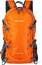 NODLAND Light Weight Backpack, 40L Foldable Water-Resistant Daypack Hiking Outdoor Camping Backpacks for Men Women