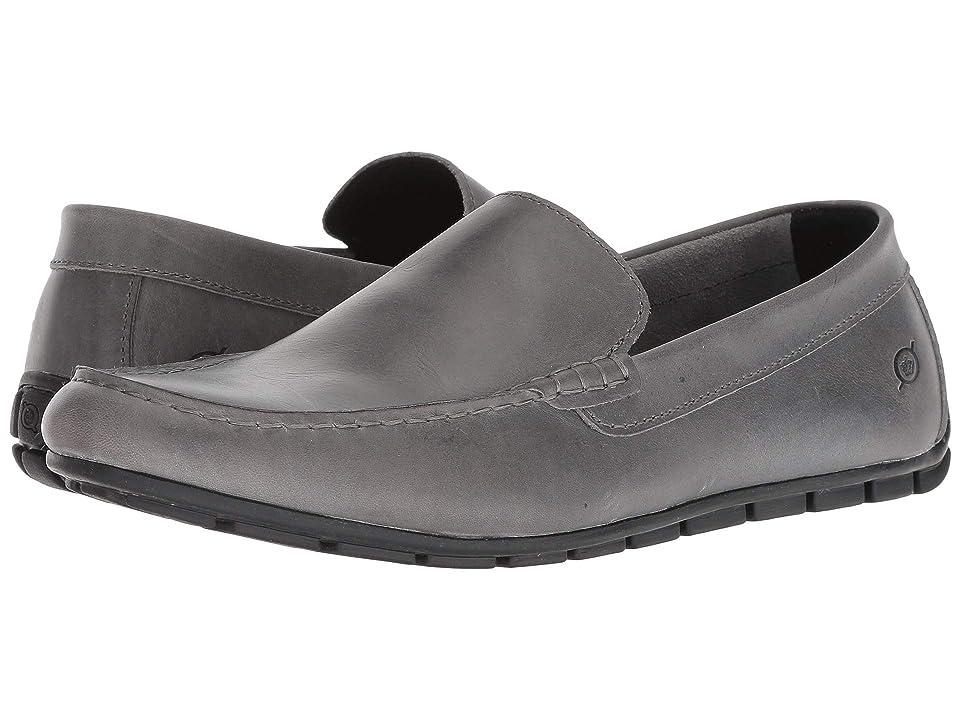 Born Allan (Grey (Graphite) Full Grain Leather) Men