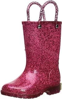 Girl's Glitter Waterproof Rain Boot