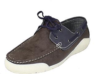 Faranzi F41230 Mens Boat Shoes
