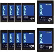 """Patriot Burst SSD 120GB Burst, 2.5"""" Internal Solid State Drive, SATA III, 6Gbps - Retail 10 Pack - PBU120GS25SSD10"""