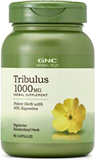 GNC Herbal Plus Tribulus 1000mg, 90 Capsules