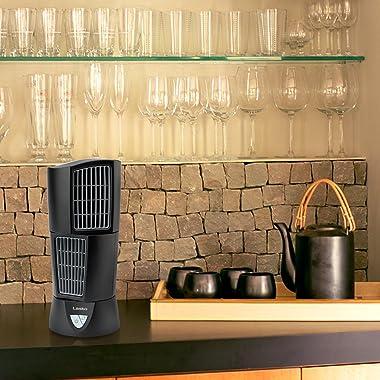 Lasko 4916 Platinum Desktop Wind Tower Oscillating Fan