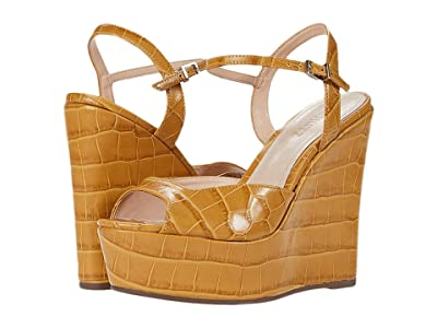 Schutz Dilene (Wide Croco Straw) Women