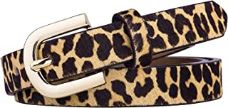 Leopard Print Belt for Women fashion leather Waist Belt Ladies Belt Casual Waistband