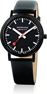 Mondaine - Reloj de Cuarzo Man Classic 36 mm