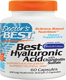 Doctors Best, Hyaluronic Acid, 60 Count