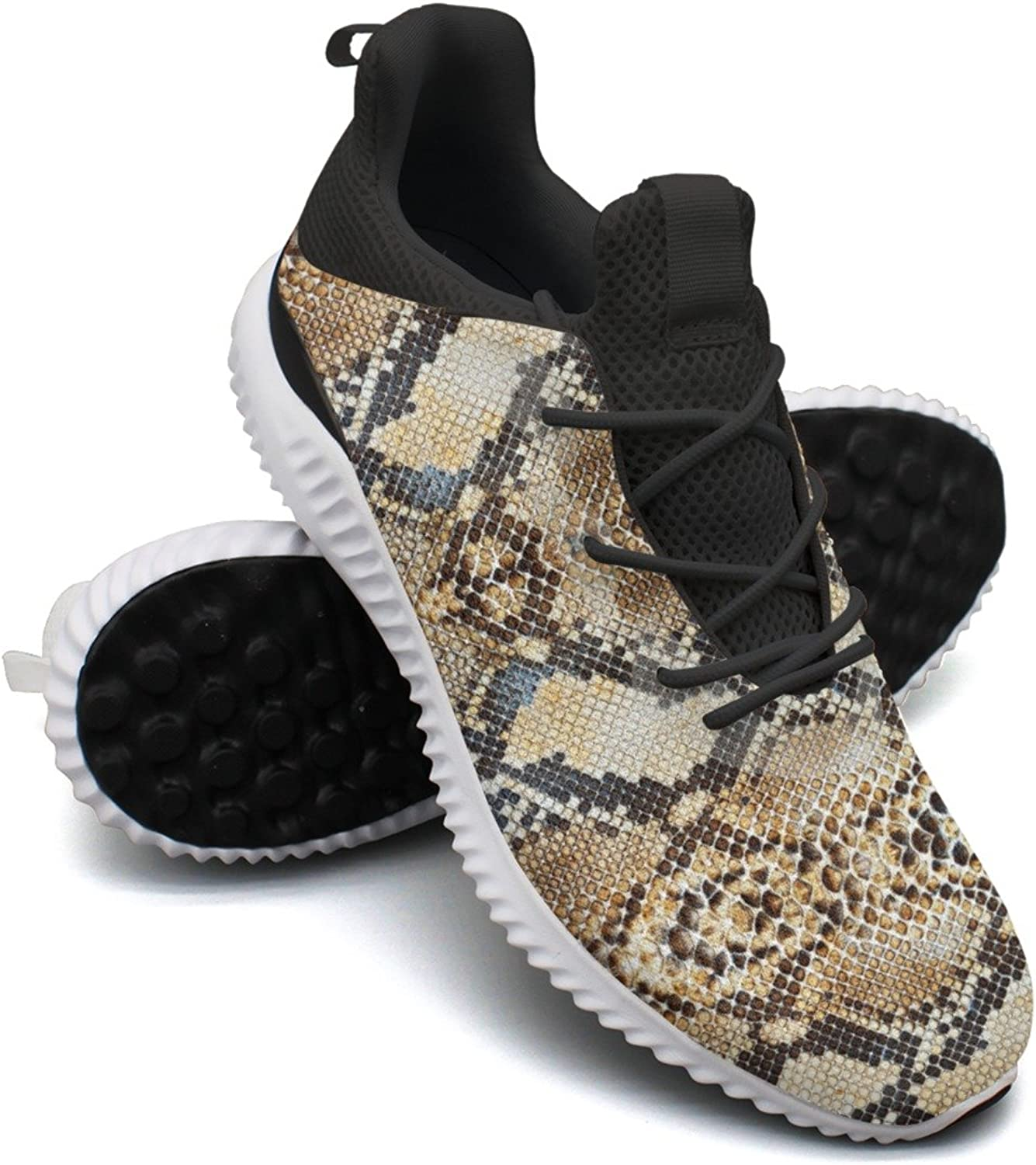 Python Snake Skin Animal Leisure Sports Running shoes Young Women Printing Hunting Active