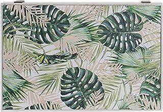 Tapa de contador de luz cubre cuadros electricos tropical madera 46x32x6 cm