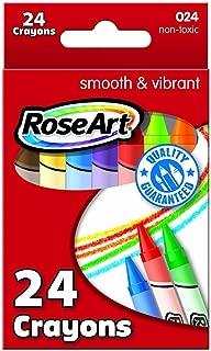 Roseart Crayons 24 Per-Pack
