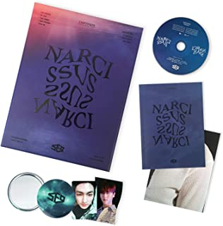 KAKAO Music SF9 6th Mini Album - Narcissus [ EMPTINESS ver. ] CD + Booklet + Photocard + Folding Poster + Photocards + FREE GIFT / K-Pop Sealed