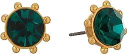 Flying Colors Bezel Studs Earrings