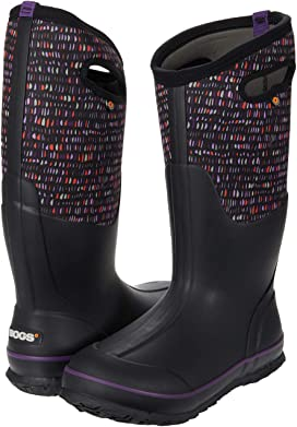 Bogs Bottes Wellie Essential Tall Noir Isolé Wellington BOOT UK taille 4-7