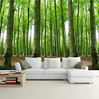 RTYUIHN Wallpaper 3D wallpaper forest natural scenery woods scenery bedroom living room decoration wallpaper modern wall a...