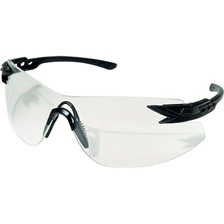 Edge Tactical Eyewear XN611 Notch Matte Black with Clear Lens