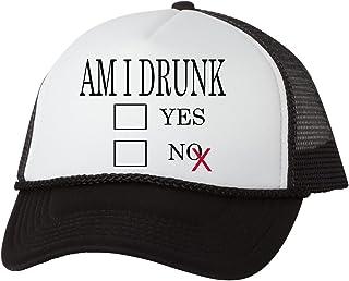 e429e3f485712 Rogue River Tactical Funny Trucker Beer Drinking Hat Am I Drunk Baseball  Cap Retro Vintage Joke