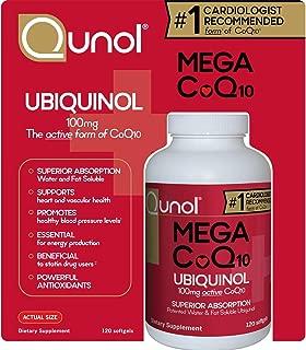 Qunol Mega CoQ10 Softgels, 100 Mg - 120 Count