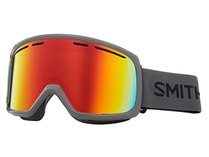 Smith Optics Range Goggle (Charcoal/Red Sol-X Mirror) Snow Goggles