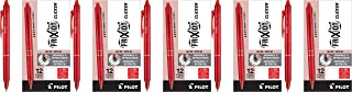 PILOT FriXion Clicker Erasable, Refillable & Retractable Gel Ink Pens, Bold Point, Red Ink, 12 Count (11396)-5 Pack