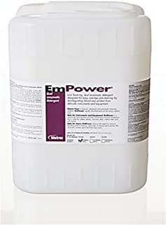 Metrex MET 10-4100 Empower Dual Enzymatic Detergent, 1 Gallons (Pack of 4)