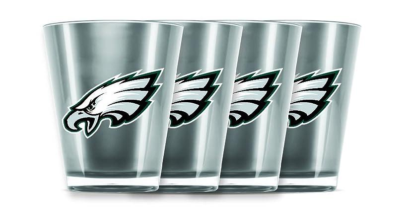 余計な創傷世界に死んだDuck House NFL Philadelphia Eagles Insulated Acrylic Shot Glass Set of 4