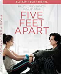 Five Feet Apart arrives on Digital May 24 and on Bu-ray, DVD June 11 from Lionsgate