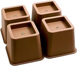 Design61 Meubelverhoger bedverhoging meubelverhoging tafelverhoger olifantenvoet bed riser hoogte ca. 10 cm 4st voor voete...