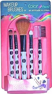 Color Fever Makeup Brush Set, Black/White