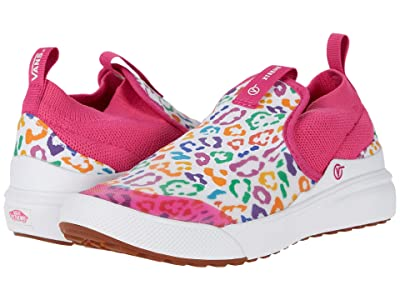 Vans Kids XtremeRanger (Little Kid) ((Rainbow Leopard) Fuchsia Purple/True White) Girls Shoes