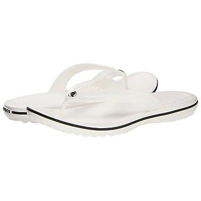 Crocs Crocband Flip (White) Shoes