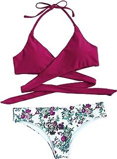 06c697494a12 Amazon.es: Multicolor - Bikinis / Ropa de baño: Ropa