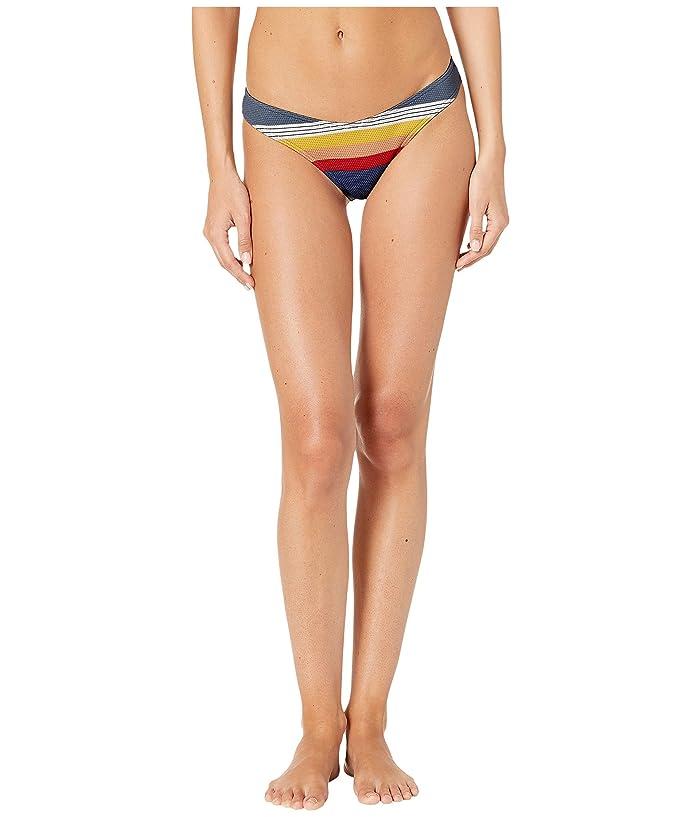 Rip Curl Beach Street High Leg Swim Bottoms (Blue) Women