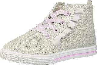 Kids Tazanna Girl's Ruffle High-top Sneaker