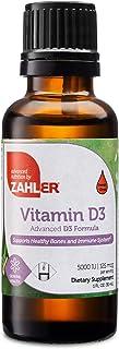 Zahler Vitamin D3 Liquid, Vitamin D Drops, Certified Kosher (5,000IU)