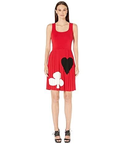 Boutique Moschino Ace Dress (Fantasy Print Red) Women