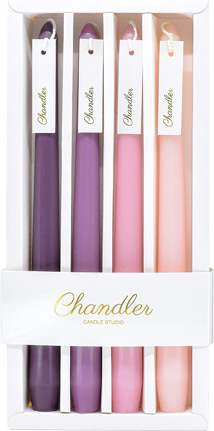 Chandler 4 Pieces Taper Candles 10