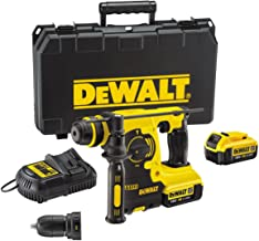 DeWalt DCH254M2-QW - Martillo combinado de batería (18,0 V, 4,0 Ah, ion litio)
