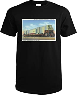 Houston, Texas - Exterior View of Sears Roebuck and Co Department Store 35576 (Black T-Shirt Small)
