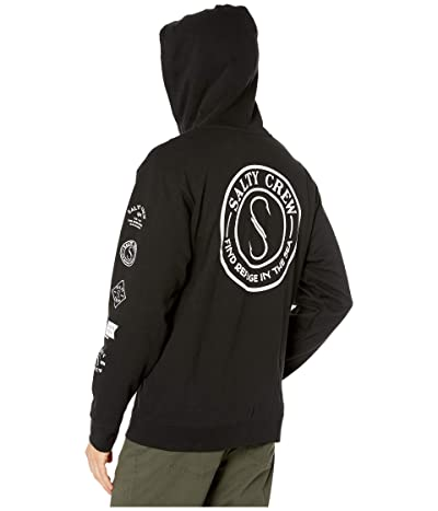 Salty Crew Palomar Zip Fleece (Black) Men