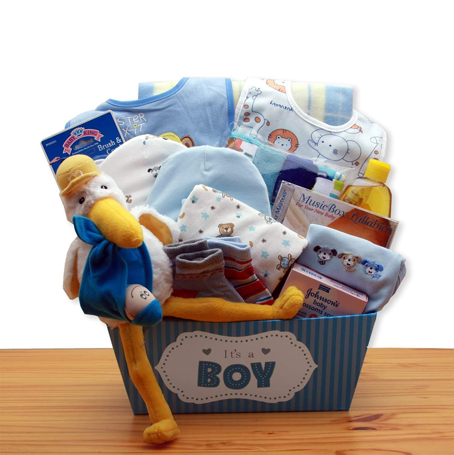 A Max 76% OFF Special Delivery New Baby Basket Gift Blue - Max 40% OFF