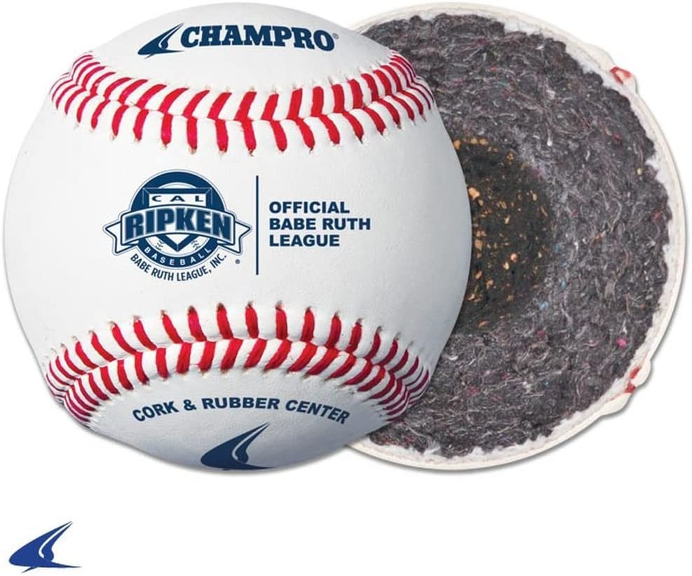 CHAMPRO Pony League Baseball Full Grain Free shipping Youth Cover 1 Leather Do Fashionable
