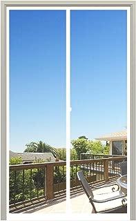 MAGZO Magnet Screen Door 34 x 82, Magnetic Mesh Curtain with Heavy DutyFits Door Size up to 34