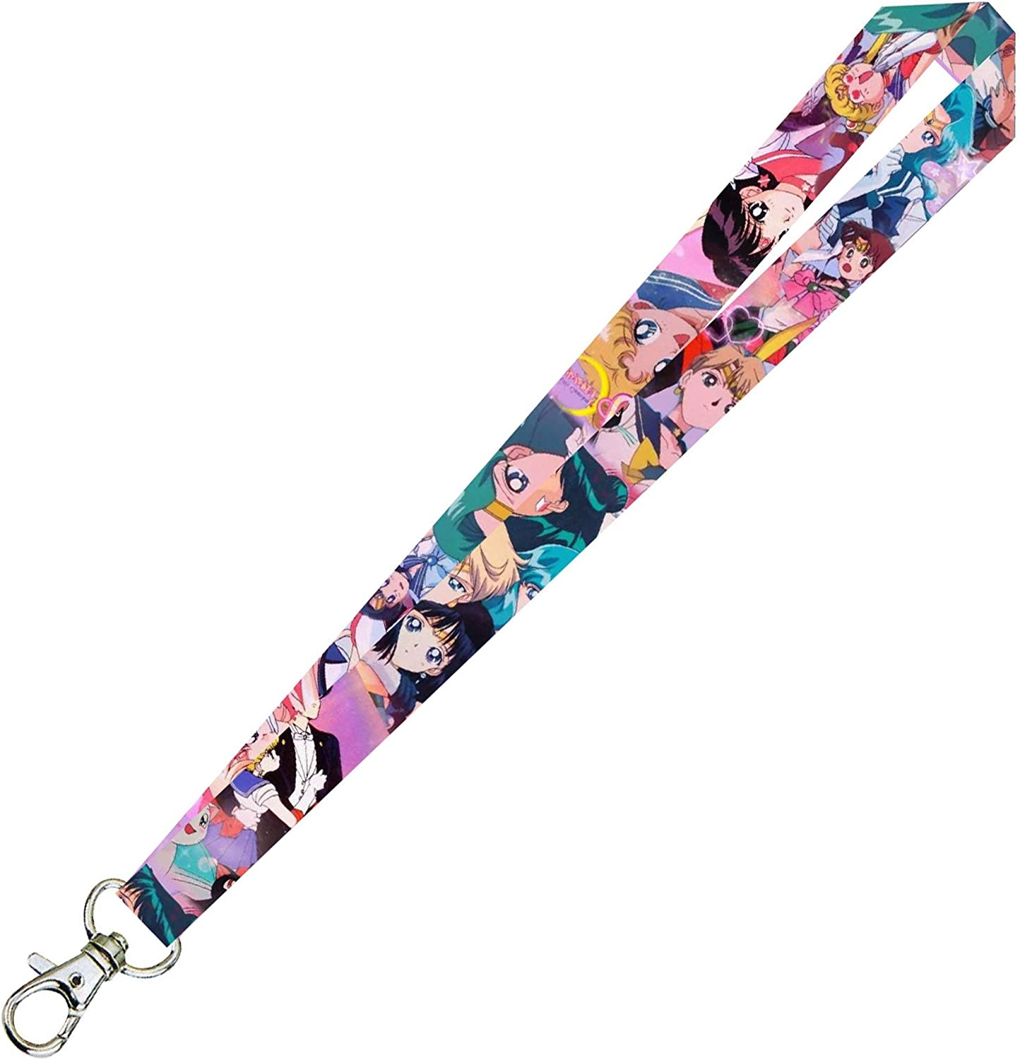 In stock Sailor Moon Scouts 35% OFF Lanyard Keychain Premium