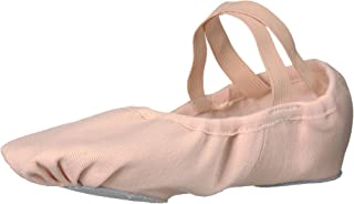Danzcue Stretch Canvas Split Sole Ballet Slipper